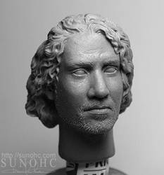 sayid from lost 3 head sculpt by sunohc