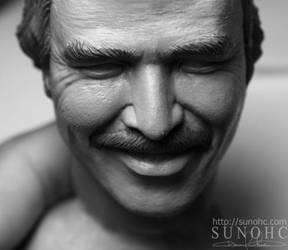 Burt Reynolds Smokey Bandit by sunohc