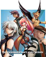 Shadowdawn Genesis Cover Art by fyrefoxz