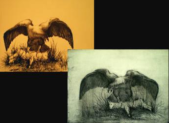 Eagle by Karaul