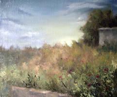 Italian Landscape by Karaul