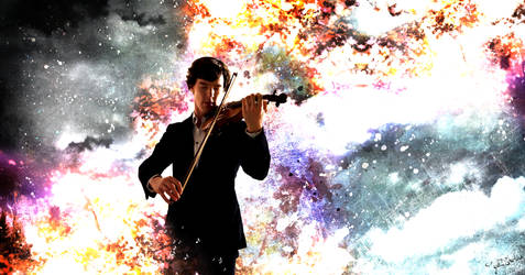 Summer's Violin by get-sherlock