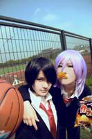 Kuroko's basketball:Murasakibara and Himuro by CE-Ciel