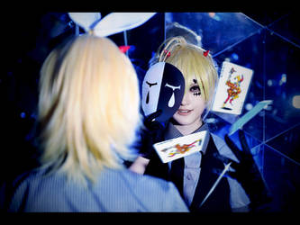 Vocaloid Poker Face  Rin and Len ver02 by CE-Ciel