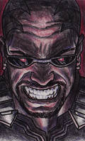 Marvel Knights: Blade by BluBoiArt