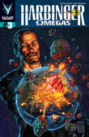HARBINGER: OMEGAS #3 Variant Cover Colours by adam-brown