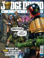 Judge Dredd megazine 352 cover colours by adam-brown