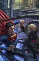 Superman by adam-brown
