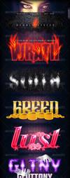 Seven Deadly Styles by aanderr