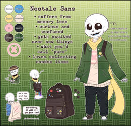 [Reference] Neotale Sans by BlurryNightSky