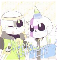 [Gift] Happy Birthday! by BlurryNightSky