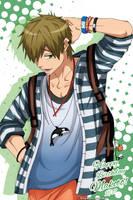 Free! - Happy Birthday Makoto! 11/17 by DaphInteresting