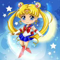 SM - Chibi Sailor Moon by DaphInteresting