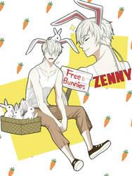Mystic Messenger - Zenny by DaphInteresting