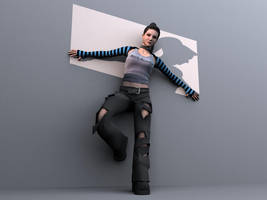 Amy Lee by 3dflasher