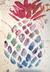 Tipsy pineapple by kittenen