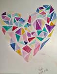 Gem Heart by kittenen