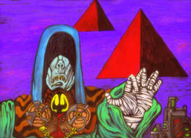 Rise of the Pyramid Cult by Ustranga