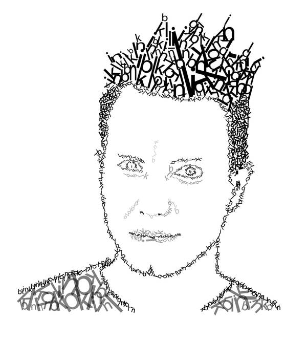 Mark Hoppus Type by chrisfishlock