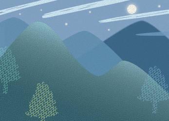 Peaceful Night by goescat