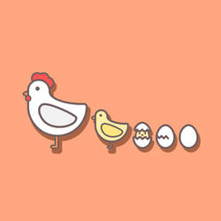 Chicken Icons by goescat