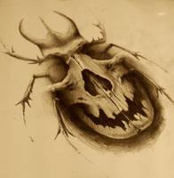skull bug by AndreySkull
