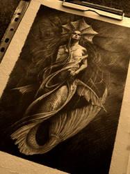 dark Ariel by AndreySkull