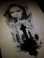 funeral flower by AndreySkull