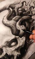skull tentacles 2 by AndreySkull