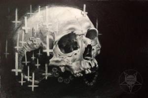 skull crosses by AndreySkull