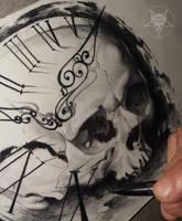 skull time by AndreySkull