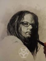 Jonathan Davis by AndreySkull
