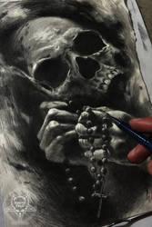 pray to death by AndreySkull