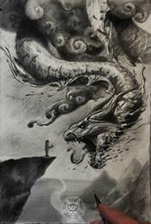 dragon by AndreySkull