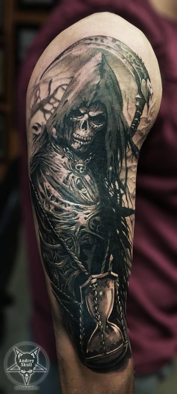 grim reaper by AndreySkull