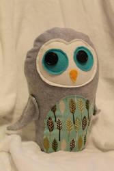 Owl Plush by geekygamergirl