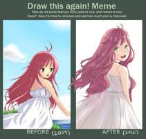 Draw this again! Meme by wishcapsule