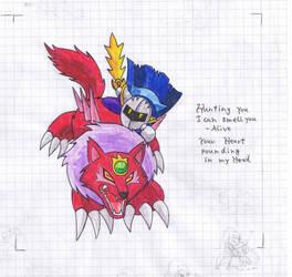 Meta Knight-Hunting You by PhantomDragonZX