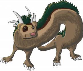 Ferret Dragon by Nosedog2006