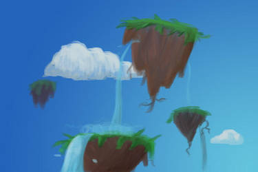 Floating Islands by rojoloco929