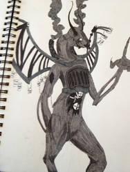 Jabberwocky  alice madness returns style by stalkerfish