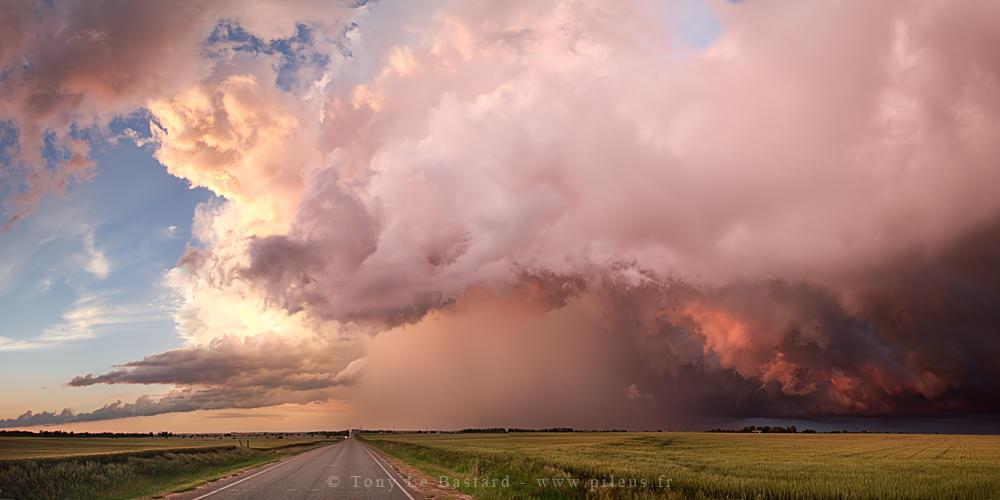 Pastel cloud II by TonyLeBastard