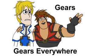 Gear everywhere by wendylizana