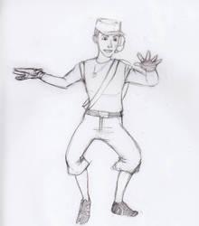 El scout con manos deformes by wendylizana