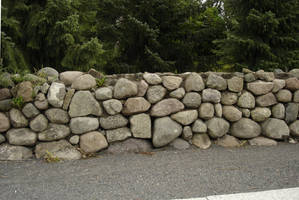 Stone fence - 01 by LunaNYXstock