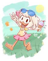 Summer Webby by the-EVIL-bunny23