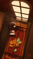 Classic Reading Atmosphere by AlaisL