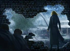 Commission: The Survivors 3 Cover Art by AlaisL
