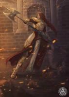 Commission: Titania by AlaisL