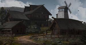 Village by TimoKujansuu